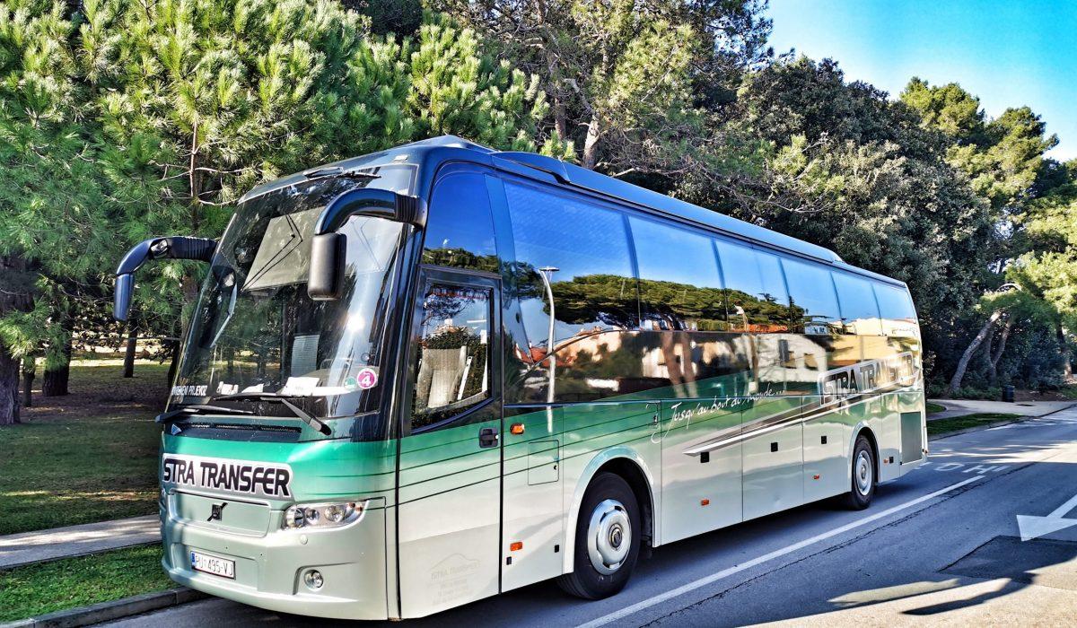 Istra Transfer autobus volvo 9900